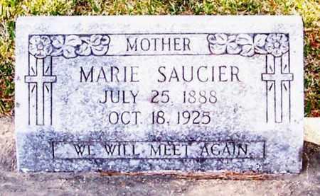 SAUCIER, MARIE - Allen County, Louisiana | MARIE SAUCIER - Louisiana Gravestone Photos