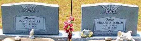 SCHYSM, EMMIE M - Allen County, Louisiana | EMMIE M SCHYSM - Louisiana Gravestone Photos