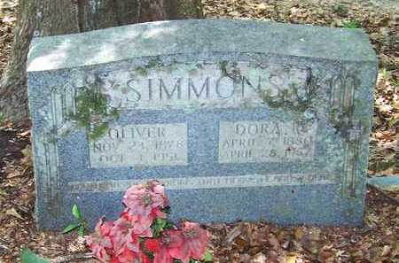 REEVES SIMMONS, DORA - Allen County, Louisiana | DORA REEVES SIMMONS - Louisiana Gravestone Photos