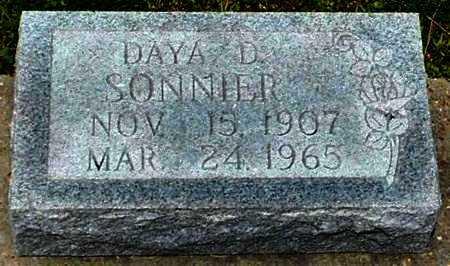 DESHOTEL SONNIER, DAYA - Allen County, Louisiana   DAYA DESHOTEL SONNIER - Louisiana Gravestone Photos