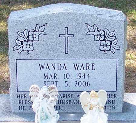 DUPLECHAIN WARE, WANDA FAYE - Allen County, Louisiana | WANDA FAYE DUPLECHAIN WARE - Louisiana Gravestone Photos