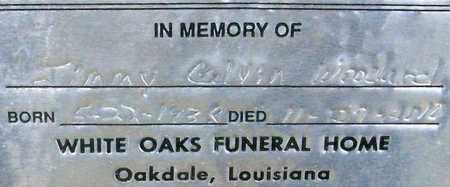 WOODARD, JIMMY CALVN - Allen County, Louisiana | JIMMY CALVN WOODARD - Louisiana Gravestone Photos