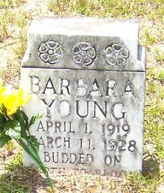 YOUNG, BARBARA - Allen County, Louisiana | BARBARA YOUNG - Louisiana Gravestone Photos