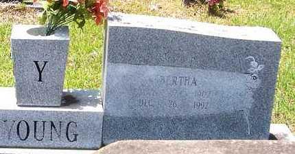 YOUNG, BERTHA - Allen County, Louisiana | BERTHA YOUNG - Louisiana Gravestone Photos