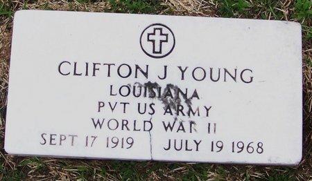 YOUNG, CLIFTON J  (VETERAN WWII) - Allen County, Louisiana | CLIFTON J  (VETERAN WWII) YOUNG - Louisiana Gravestone Photos