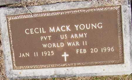 YOUNG, CECIL MACK   (VETERAN WWII) - Allen County, Louisiana | CECIL MACK   (VETERAN WWII) YOUNG - Louisiana Gravestone Photos