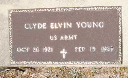 YOUNG, CLYDE ELVIN  (VETERAN) - Allen County, Louisiana | CLYDE ELVIN  (VETERAN) YOUNG - Louisiana Gravestone Photos