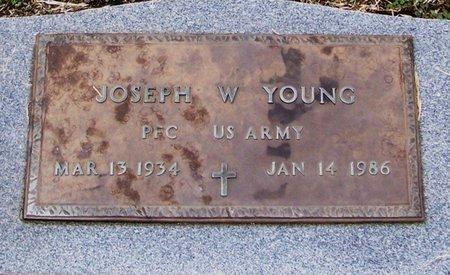 YOUNG, JOSEPH W  (VETERAN) - Allen County, Louisiana | JOSEPH W  (VETERAN) YOUNG - Louisiana Gravestone Photos