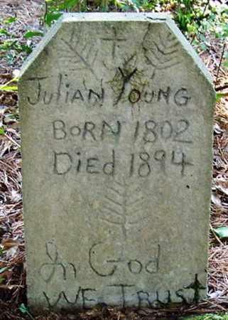 YOUNG, JULIAN - Allen County, Louisiana | JULIAN YOUNG - Louisiana Gravestone Photos