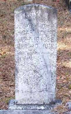 YOUNG, MARY E - Allen County, Louisiana | MARY E YOUNG - Louisiana Gravestone Photos