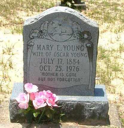 YOUNG, MARY - Allen County, Louisiana   MARY YOUNG - Louisiana Gravestone Photos