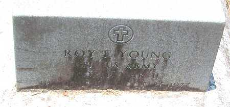 YOUNG, ROY E (VETERAN WWII) - Allen County, Louisiana | ROY E (VETERAN WWII) YOUNG - Louisiana Gravestone Photos