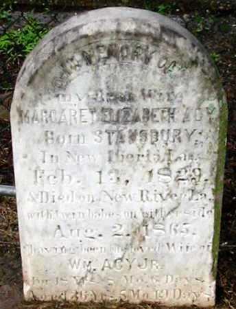 ACY, MARGARET ELIZABETH - Ascension County, Louisiana | MARGARET ELIZABETH ACY - Louisiana Gravestone Photos