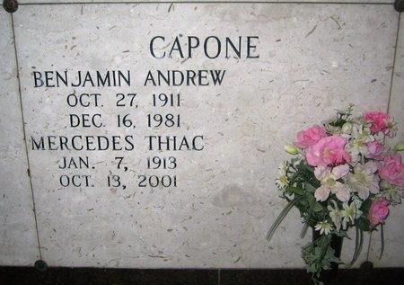 CAPONE, BENJAMIN ANDREW - Ascension County, Louisiana | BENJAMIN ANDREW CAPONE - Louisiana Gravestone Photos