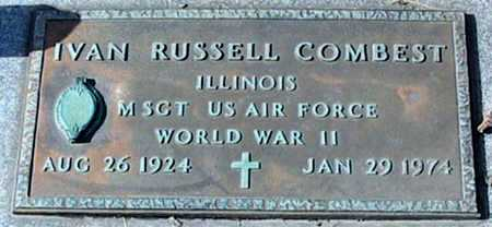 COMBEST, IVAN RUSSELL (VETERAN WWII) - Ascension County, Louisiana | IVAN RUSSELL (VETERAN WWII) COMBEST - Louisiana Gravestone Photos
