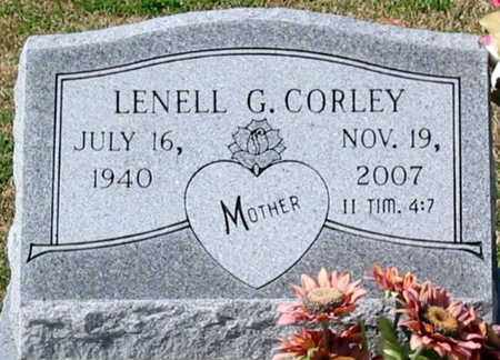 CORLEY, LENELL G - Ascension County, Louisiana | LENELL G CORLEY - Louisiana Gravestone Photos