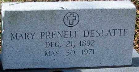 DESLATTE, MARY - Ascension County, Louisiana | MARY DESLATTE - Louisiana Gravestone Photos