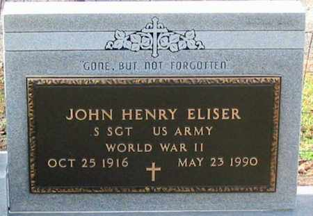 ELISER, JOHN HENRY (VETERAN WWII) - Ascension County, Louisiana | JOHN HENRY (VETERAN WWII) ELISER - Louisiana Gravestone Photos