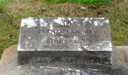 LANDRY, KERNEL  (VETERAN WWI) - Ascension County, Louisiana   KERNEL  (VETERAN WWI) LANDRY - Louisiana Gravestone Photos