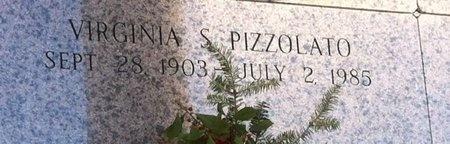 PIZZOLATO, VIRGINIA - Ascension County, Louisiana | VIRGINIA PIZZOLATO - Louisiana Gravestone Photos