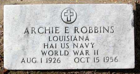 ROBBINS, ARCHIE E  (VETERAM WWII) - Ascension County, Louisiana | ARCHIE E  (VETERAM WWII) ROBBINS - Louisiana Gravestone Photos
