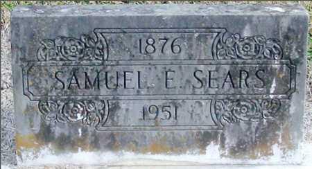 SEARS, SAMUEL E - Ascension County, Louisiana | SAMUEL E SEARS - Louisiana Gravestone Photos