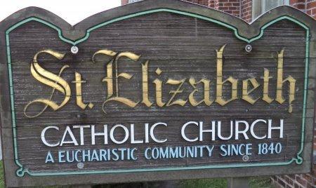 * ST ELIZABETH SIGN,  - Assumption County, Louisiana |  * ST ELIZABETH SIGN - Louisiana Gravestone Photos
