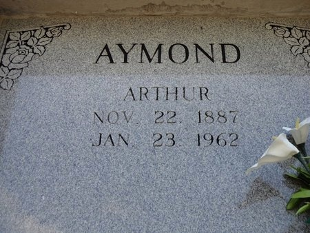 AYMOND, ARTHUR JOSEPH - Avoyelles County, Louisiana | ARTHUR JOSEPH AYMOND - Louisiana Gravestone Photos