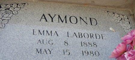 LABORDE AYMOND, EMMA CECILE - Avoyelles County, Louisiana | EMMA CECILE LABORDE AYMOND - Louisiana Gravestone Photos