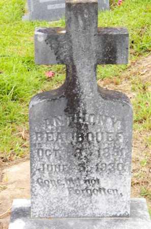 BEAUBOUEF, ANTHONY - Avoyelles County, Louisiana | ANTHONY BEAUBOUEF - Louisiana Gravestone Photos