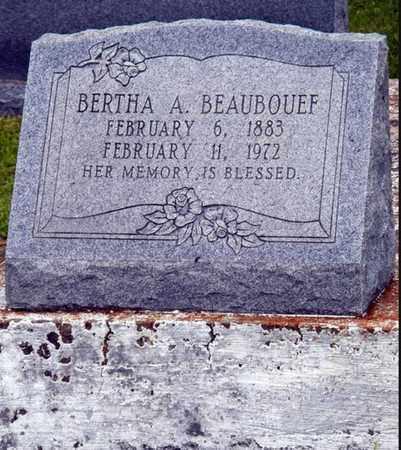 BEAUBOUEF, BERTHA A - Avoyelles County, Louisiana   BERTHA A BEAUBOUEF - Louisiana Gravestone Photos