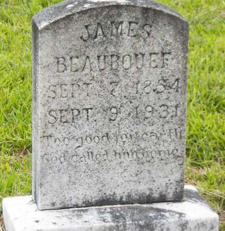 BEAUBOUEF, JAMES GABRIEL - Avoyelles County, Louisiana   JAMES GABRIEL BEAUBOUEF - Louisiana Gravestone Photos