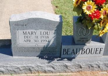 BEAUBOUEF, MARY LOU - Avoyelles County, Louisiana | MARY LOU BEAUBOUEF - Louisiana Gravestone Photos