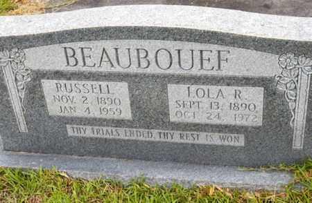 BEAUBOUEF, RUSSELL - Avoyelles County, Louisiana | RUSSELL BEAUBOUEF - Louisiana Gravestone Photos