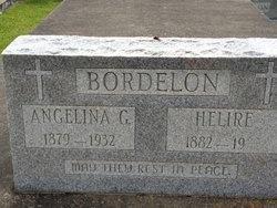 BORDELON, ANGELINA - Avoyelles County, Louisiana | ANGELINA BORDELON - Louisiana Gravestone Photos