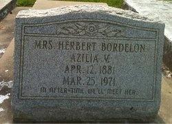 BORDELON, AZILIA (MRS HERBERT) - Avoyelles County, Louisiana   AZILIA (MRS HERBERT) BORDELON - Louisiana Gravestone Photos