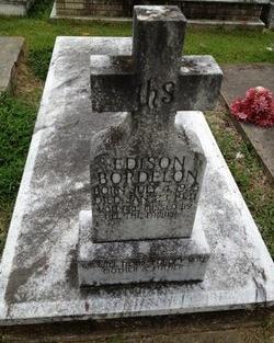 BORDELON, EDISON J - Avoyelles County, Louisiana   EDISON J BORDELON - Louisiana Gravestone Photos
