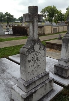 BORDELON, GACIA - Avoyelles County, Louisiana | GACIA BORDELON - Louisiana Gravestone Photos