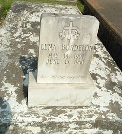 BORDELON, LENA - Avoyelles County, Louisiana | LENA BORDELON - Louisiana Gravestone Photos