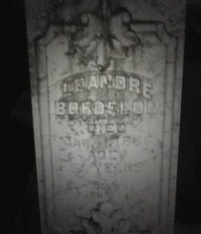 BORDELON, LEANDRE - Avoyelles County, Louisiana | LEANDRE BORDELON - Louisiana Gravestone Photos