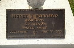 BORDELON, SIDNEY J   (VETERAN WWII) - Avoyelles County, Louisiana | SIDNEY J   (VETERAN WWII) BORDELON - Louisiana Gravestone Photos