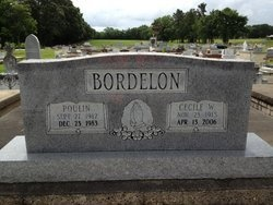 BORDELON, CECILE - Avoyelles County, Louisiana | CECILE BORDELON - Louisiana Gravestone Photos