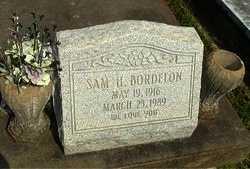 BORDELON, SAM H - Avoyelles County, Louisiana | SAM H BORDELON - Louisiana Gravestone Photos