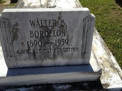 BORDELON, WALTER B - Avoyelles County, Louisiana | WALTER B BORDELON - Louisiana Gravestone Photos