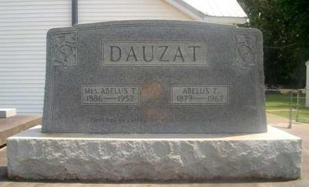 DAUZAT, ABELUS T, MRS (LEONTINE MARIE) - Avoyelles County, Louisiana | ABELUS T, MRS (LEONTINE MARIE) DAUZAT - Louisiana Gravestone Photos