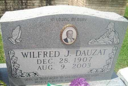 DAUZAT, WILFRED J - Avoyelles County, Louisiana | WILFRED J DAUZAT - Louisiana Gravestone Photos