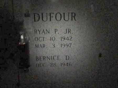 DUFOUR, RYAN P,JR - Avoyelles County, Louisiana | RYAN P,JR DUFOUR - Louisiana Gravestone Photos