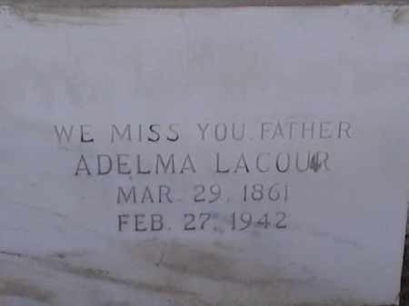 LACOUR, ADLEMA - Avoyelles County, Louisiana | ADLEMA LACOUR - Louisiana Gravestone Photos