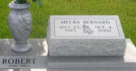 BERNARD ROBERT, MELBA - Avoyelles County, Louisiana | MELBA BERNARD ROBERT - Louisiana Gravestone Photos