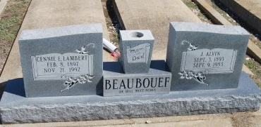 BEAUBOUEF, CENNIE E - Avoyelles County, Louisiana | CENNIE E BEAUBOUEF - Louisiana Gravestone Photos